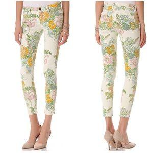✨PAIGE✨Verdugo Ankle Flea Market Floral Jeans